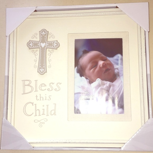Accessories | Really Cute Baptism Frame For A Baby Nwt | Poshmark
